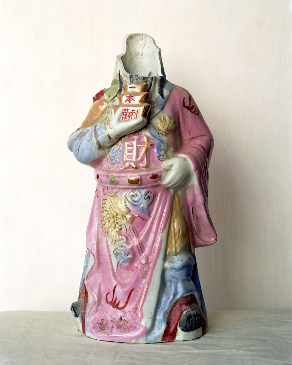 god of fortune porcelain statue / collected 2006