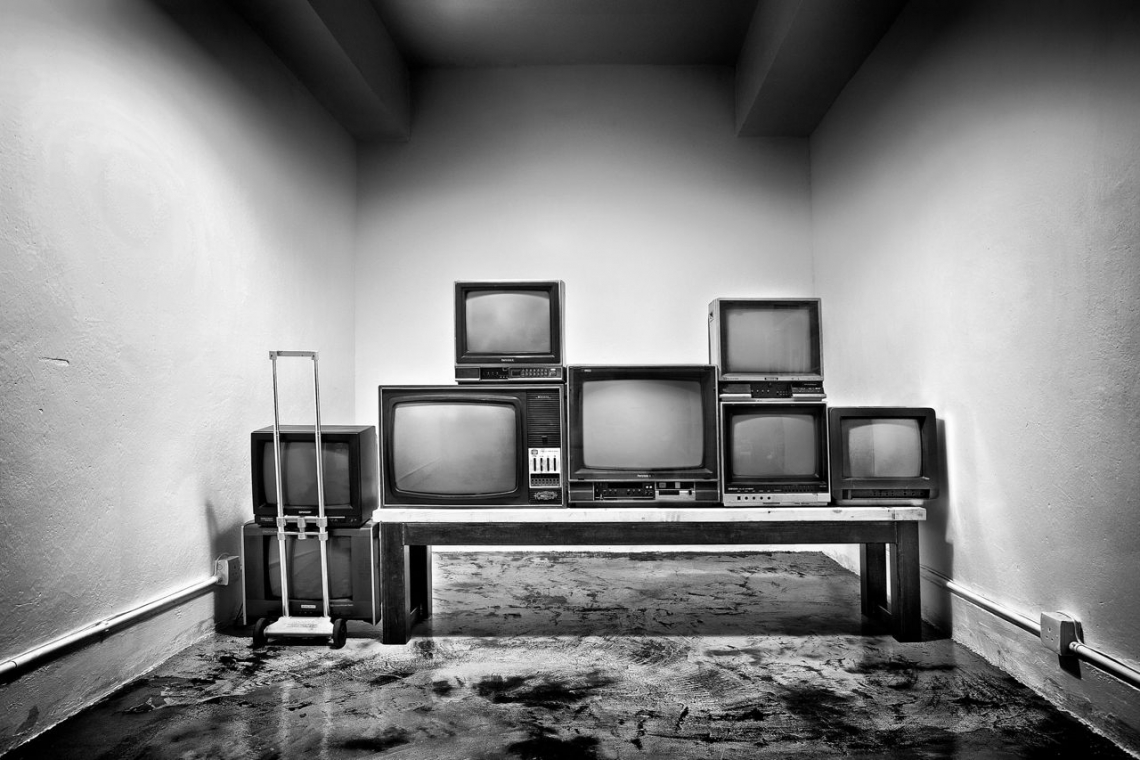 TVs from a different era remind Daniel of his days as a child. With no TVs of their own, he and his friends would peep under the neighbour's gate so they could watch their favourite TV show.