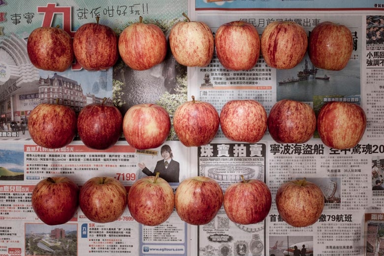 Apples. From the series The Poverty Line - Hong Kong