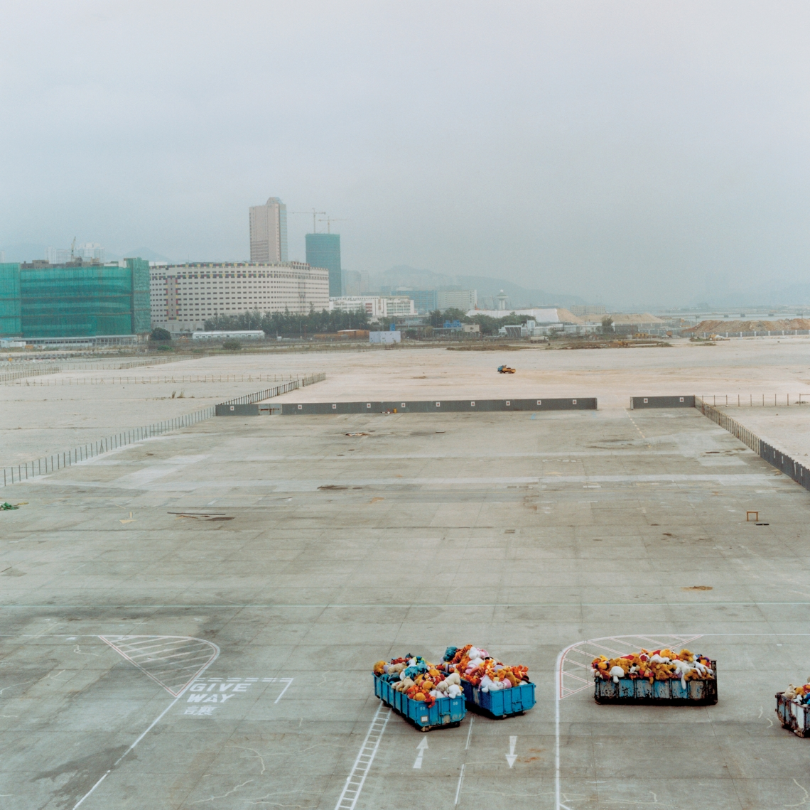 Disused airport, Kai Tak, Hong Kong